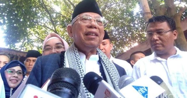 Kiai Ma'ruf Amin: Khilafah Tak akan Laku, RI Punya Pancasila dan UUD 1945