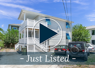 Multi-Family Duplex Just Steps from the Ocean Now Available for Sale