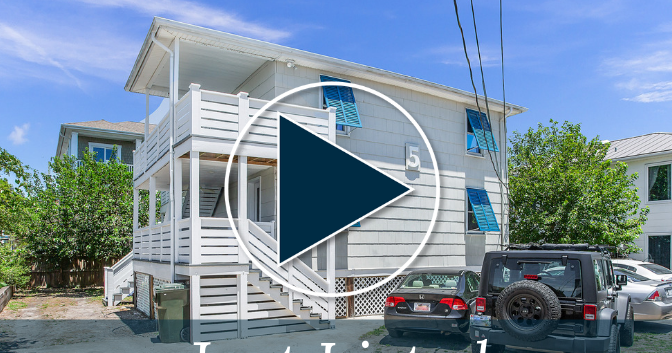 Multi Family Duplex Just Steps From The Ocean Now