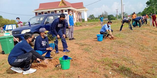 Bupati Natuna Gelar Kegiatan Kampanye GERMAS Kabupaten Natuna Tahun 2021