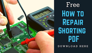 cell phone PCB and how to repair shorting pdf