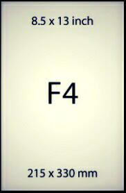 Ukuran Kertas F4 Dalam Cm Serta Fakta Yang Menarik Seputar Kertas F4