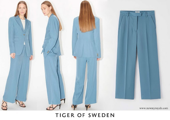 Crown Princess Victoria wore Tiger of sweden Rosaria Trousers
