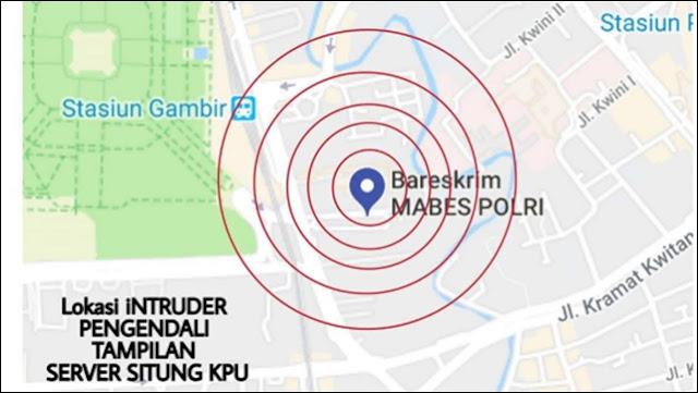 Polri Sebut Kabar Server Situng KPU Dikendalikan Bareskrim Hoax