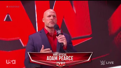 WWE Raw Adam Pearce Vince McMahon GM