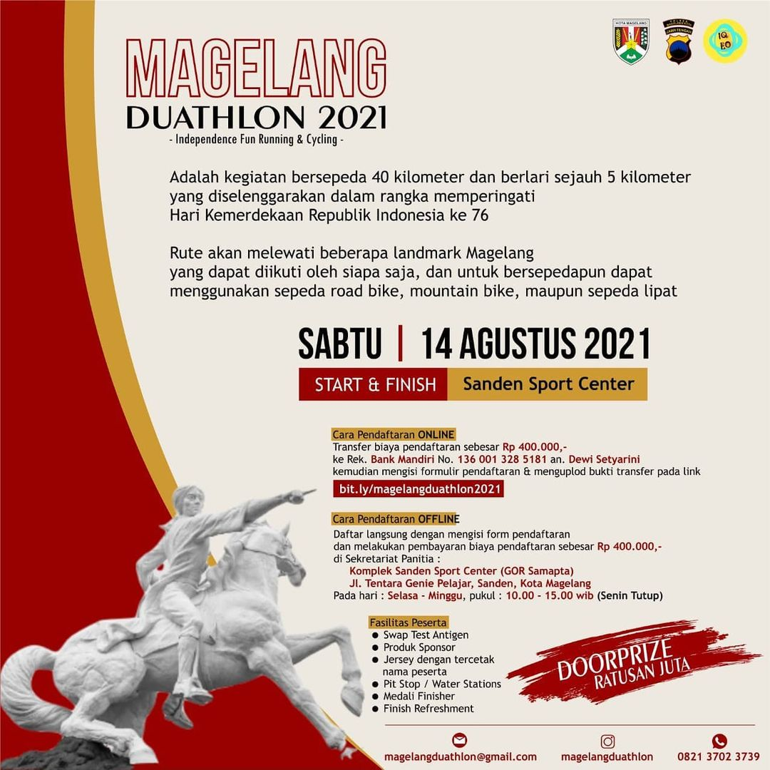 Magelang Duathlon • 2021