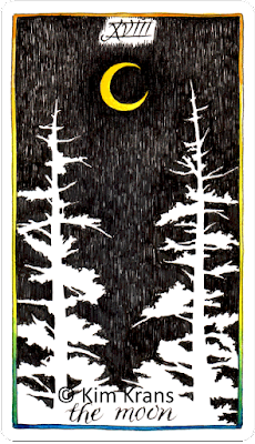 Wild Unknown Tarot The Moon Kim Krans