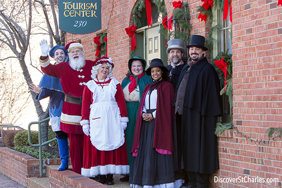St. Charles Christmas Traditions Event 2019