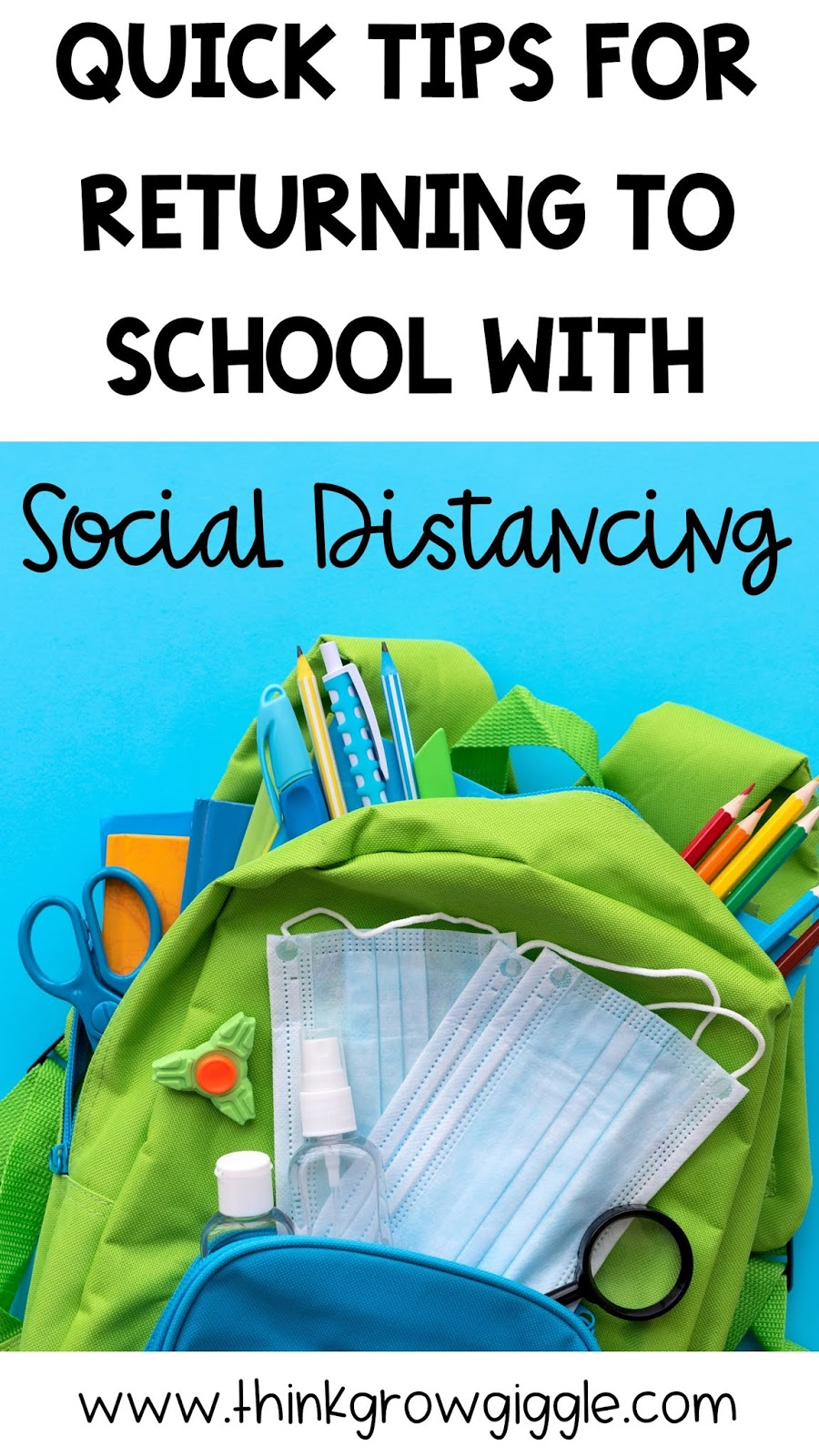 back to school ideas social distance