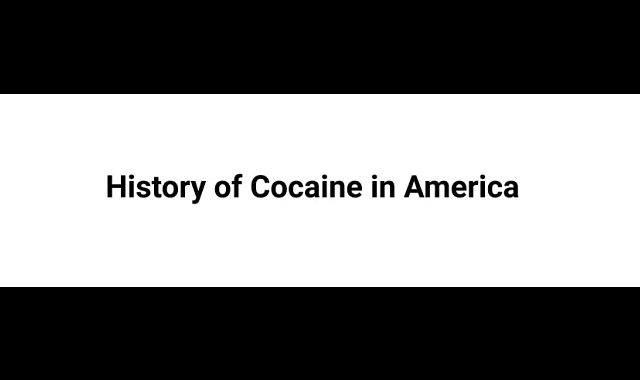 Cocaine History in the U.S