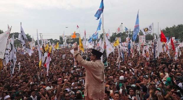 Kampanye Akbar di GBK, Prabowo Targetkan 1 Juta Orang Hadir