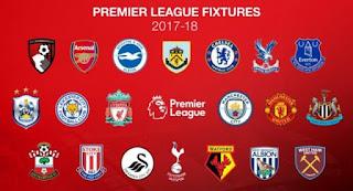 Jadwal Liga Inggris Pekan ke-14 Rabu-Kamis 29-30 November 2017