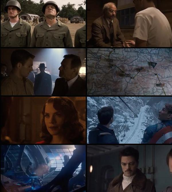 Captain America The First Avenger 2011 Dual Audio Hindi BluRay 480p