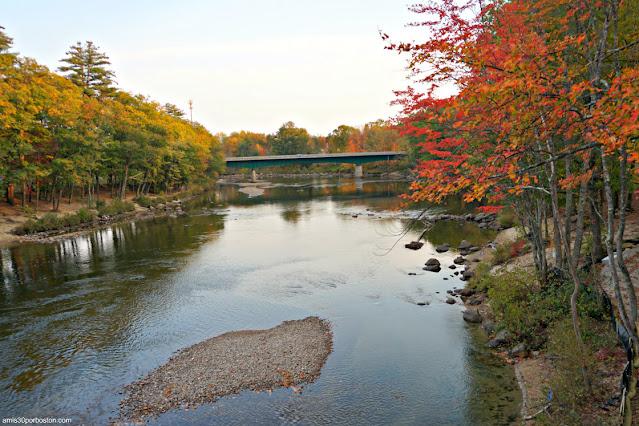 Saco River en Conway, New Hampshire