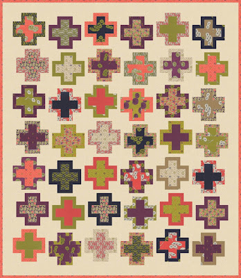 Quilt Inspiration Free Pattern Day Plus And Cross Quilts Inspiration Free Cross Quilt Patterns