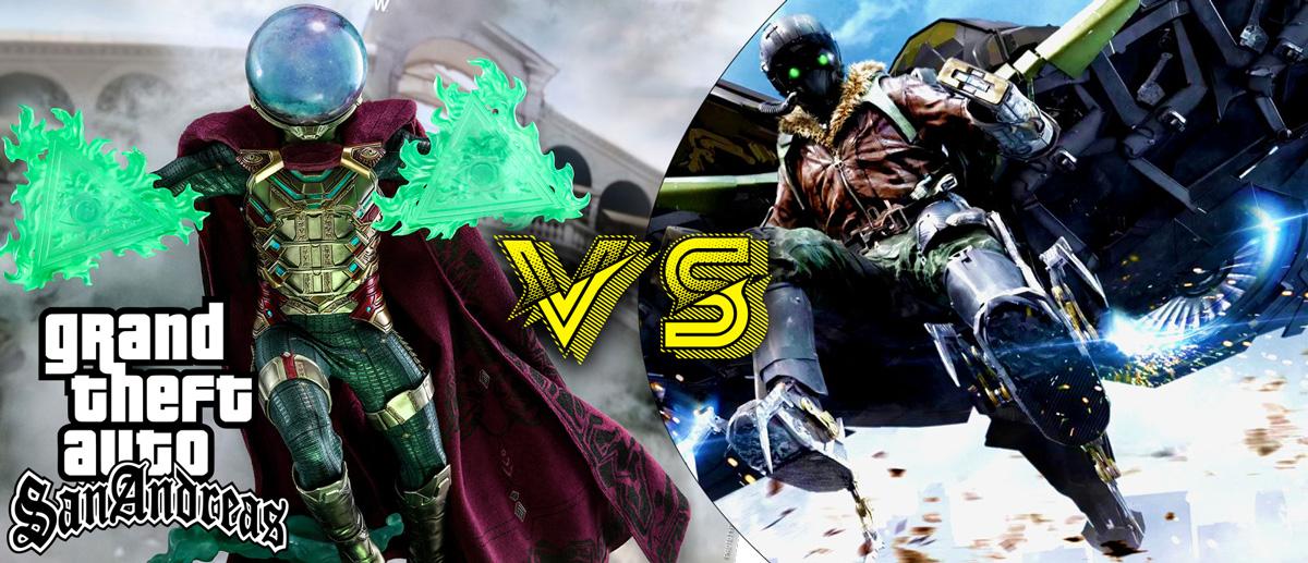 GTA San Andreas vulture abilities vs mysterio abilities mcoc Mod