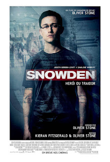 "Poster do filme ""Snowden - Herói ou Traidor"""