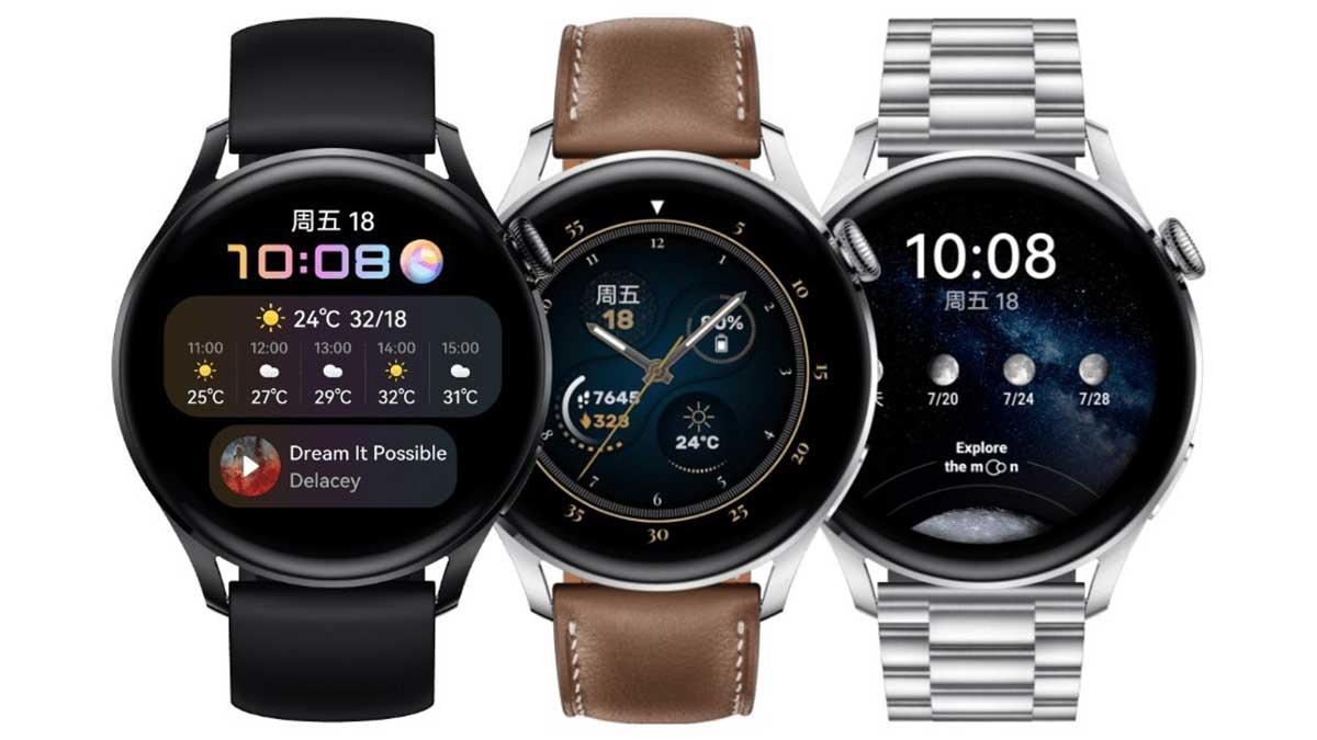 سعر ومواصفات Huawei Watch 3 و Watch 3 Pro الساعات الذكية