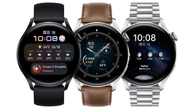 سعر ومواصفات Huawei Watch 3 و Watch 3 Pro الساعات الذكية التي تعمل بنظام HarmonyOS 2