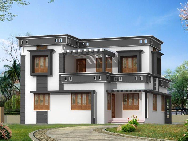 Kombinasi Warna Cat Rumah Abu Abu  terpopuler 41 warna cat eksterior rumah minimalis 2019