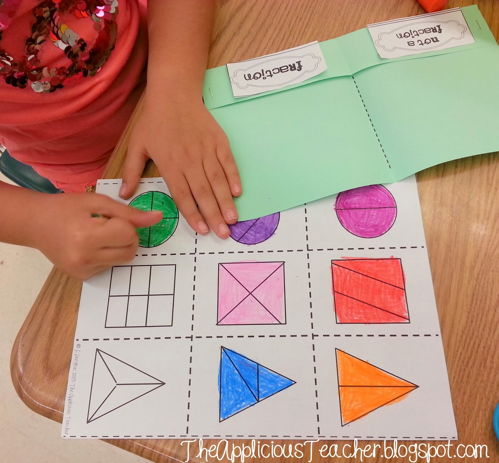 Shape Out And Fraction Up