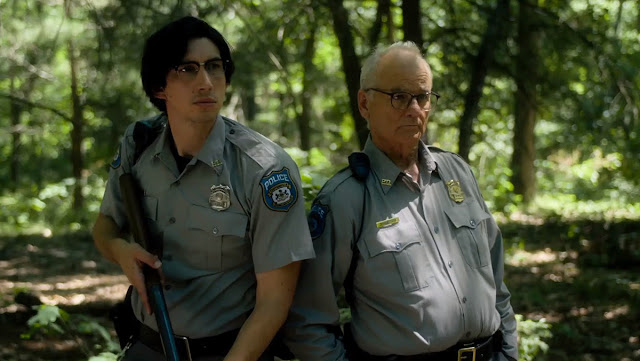 adam driver and bill murray play sheriffs