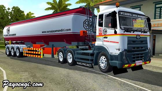 livery ud quester trailer tangki pt surya jaya