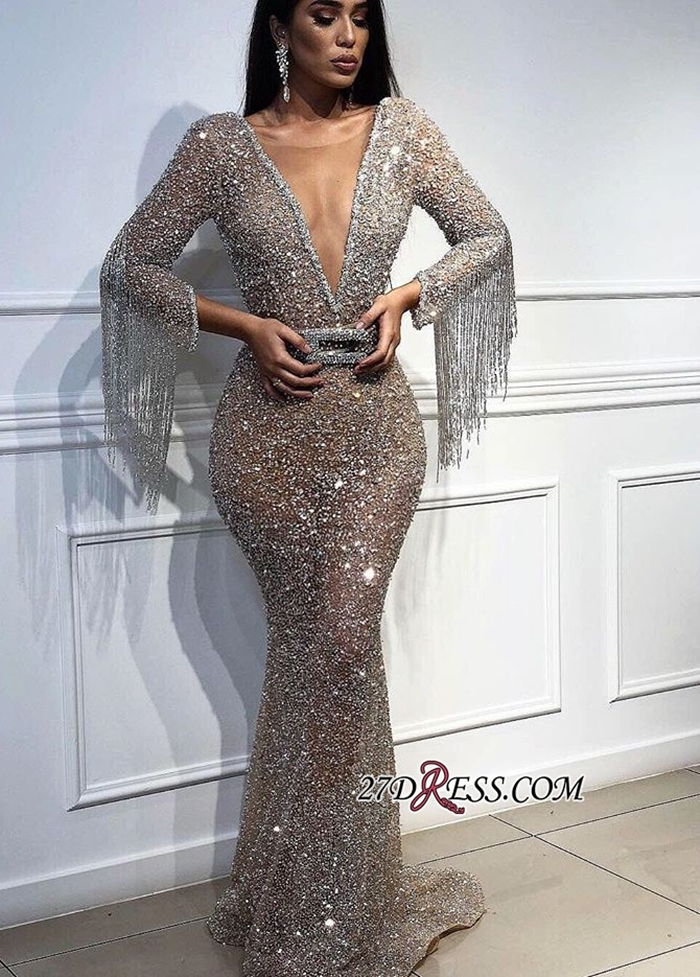 https://www.27dress.com/p/sexy-deep-v-neck-sequins-mermaid-crystal-tassels-prom-gown-109227.html