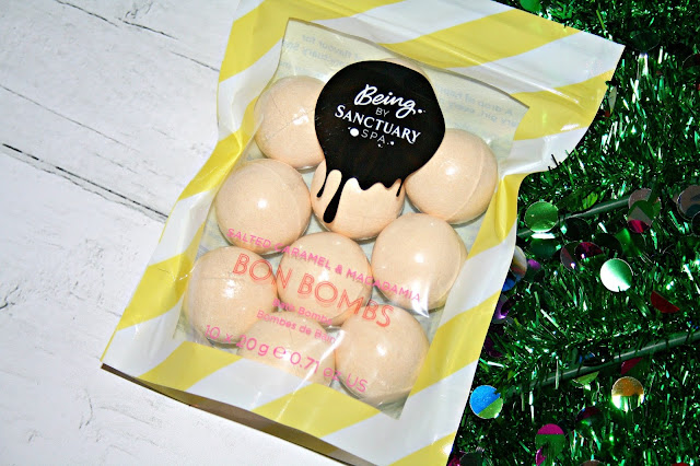 Being by Sanctuary Spa Salted Caramel & Macademia Bon Bombs
