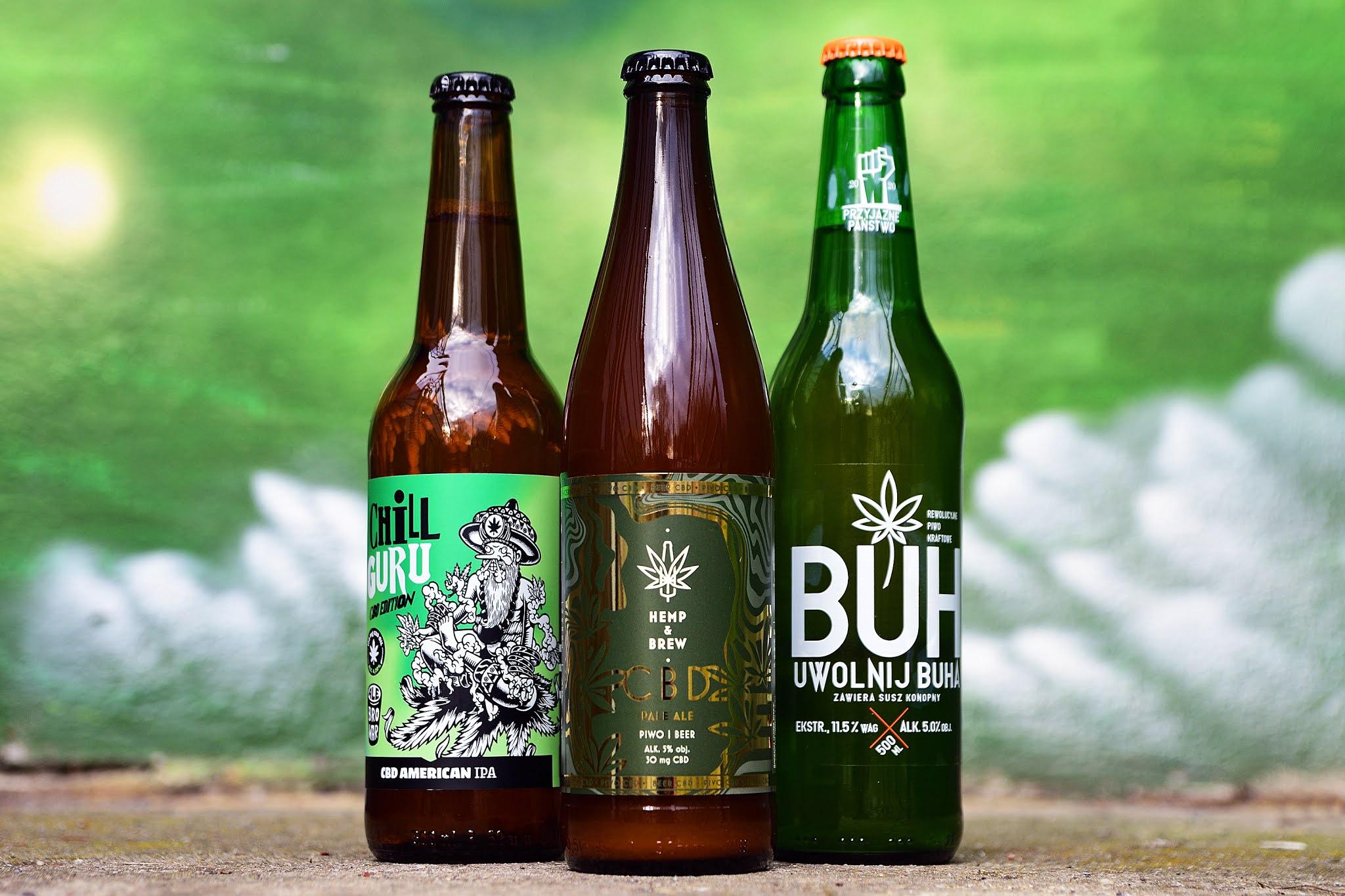 Piwa z dodatkiem konopii  - idealne do chillowania?