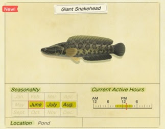Cara Menangkap Ikan Giant Snakehead di Animal Crossing New Horizons-1