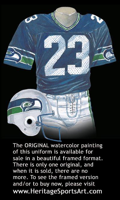 save off cdec2 15eb2 Seattle Seahawks Uniform and Team History | Heritage ...