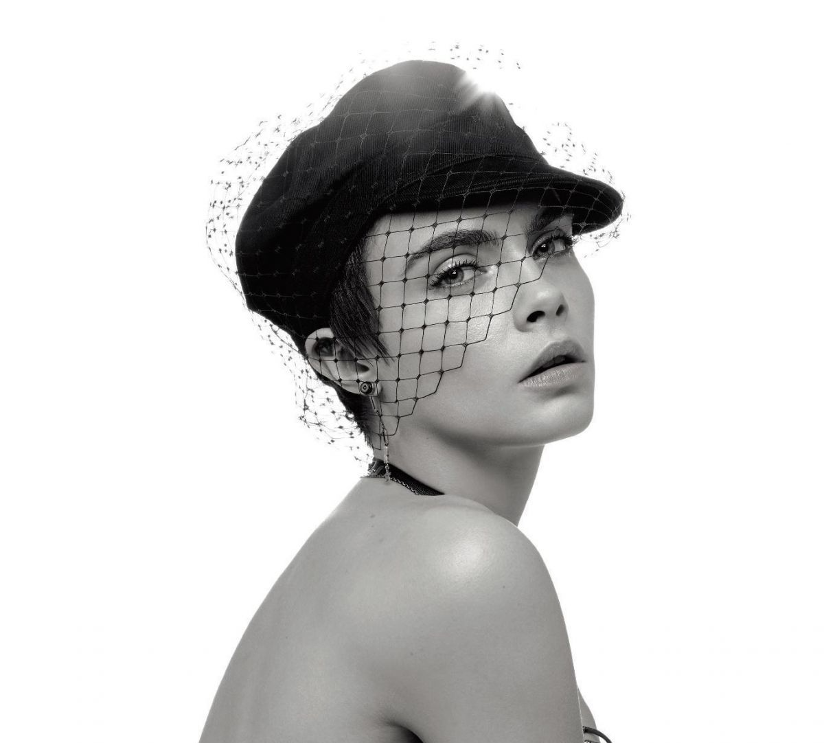 Cara Delevingne In Numero Magazine 190 February 2018 issue