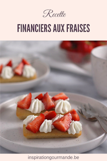 Recette des financiers aux fraises et chantilly tonka
