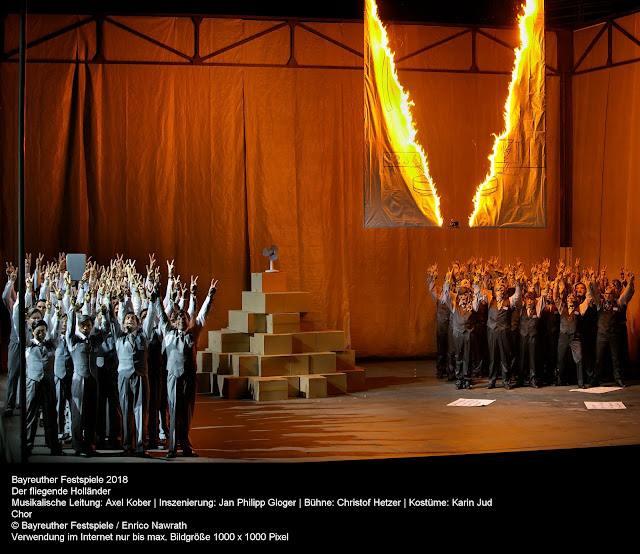 Wagner: Der fliegende Holländer - Bayreuth Festival (Photo Enrico Nawrath)