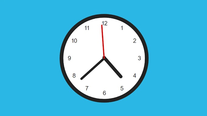 Make an Analog Clock using HTML, CSS and JavaScript