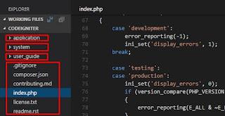 Install CodeIgniter di Localhost