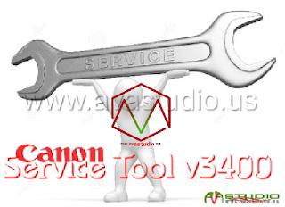Canon Service Tool V.3400