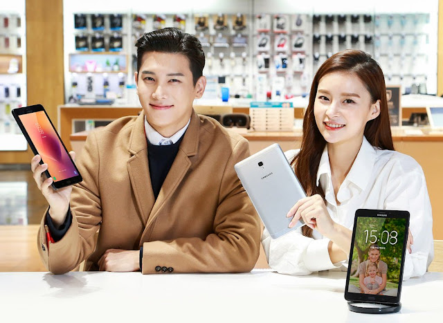 Samsung Galaxy Tab A mới, hỗ trợ Bixby và giá 240 USD