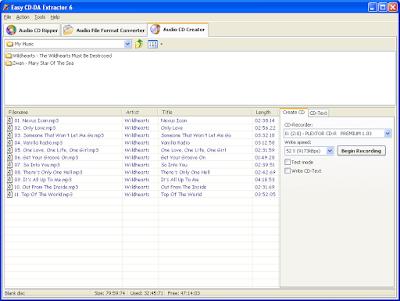 Aplikasi Kopi Audio dari CD