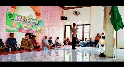 Muspika Glumpang Baro  Sosialisasi Vaksinasi  Di Gampong Palong