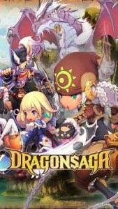 Dragonsaga Mod Apk v3.1.1 (Unlimited Money+High Damage) Terbaru