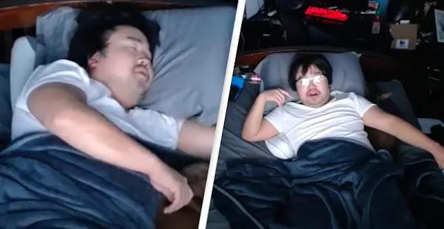 Streamer Menghasilkan Ratusan Juta Hanya Dengan Tidur