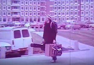 Arriving at university, 1974