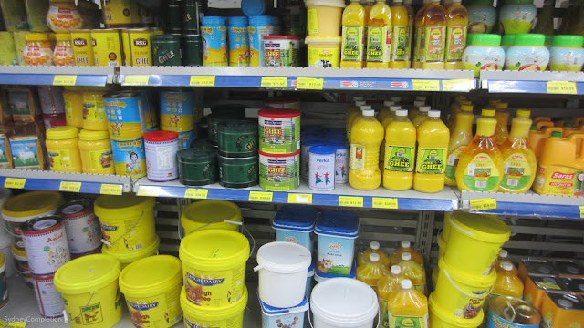 Ghee Section of Udaya Supermarket Wentworthville