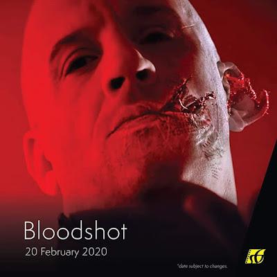 Senarai Filem Yang Akan Keluar di Panggung Wayang Tahun 2020 - Bloodshot (2020)