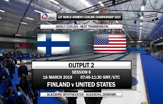 Curling World Championship Eutelsat 7A/7B Biss Key 18 March 2019