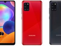 Samsung Galaxy A31 Meluncur, Usung Baterai 5.000mAh dan RAM 6GB