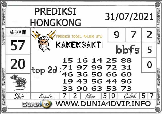 Prediksi Togel HONGKONG DUNIA4D 31 JULI 2021