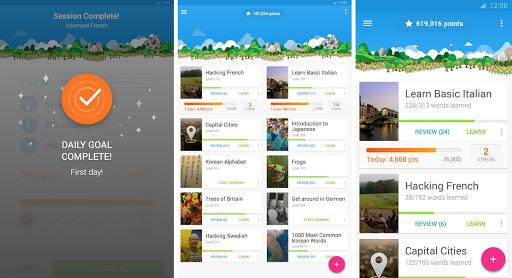 تطبيق مجاني مميز لتعلم اللغات لأنظمة أندرويد وأي او اس Memrise APK-iOS